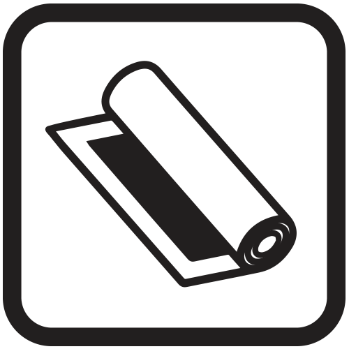 Rolled canvas icon